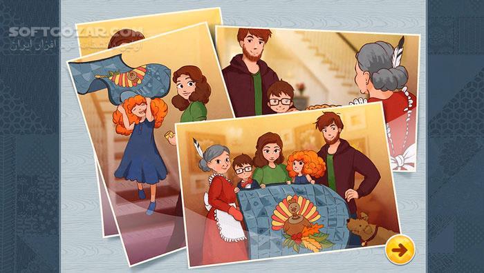 Thanksgiving Day Mosaic تصاویر نرم افزار  - سافت گذر
