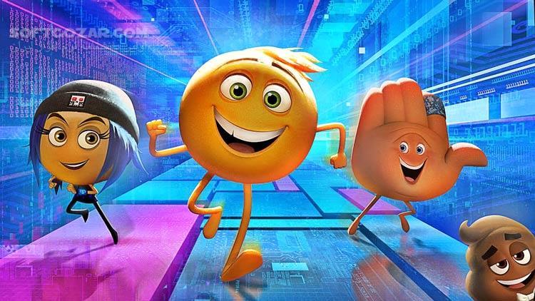 The Emoji Movie تصاویر نرم افزار  - سافت گذر