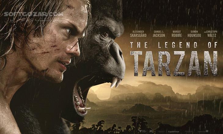 The Legend of Tarzan 2016 تصاویر نرم افزار  - سافت گذر