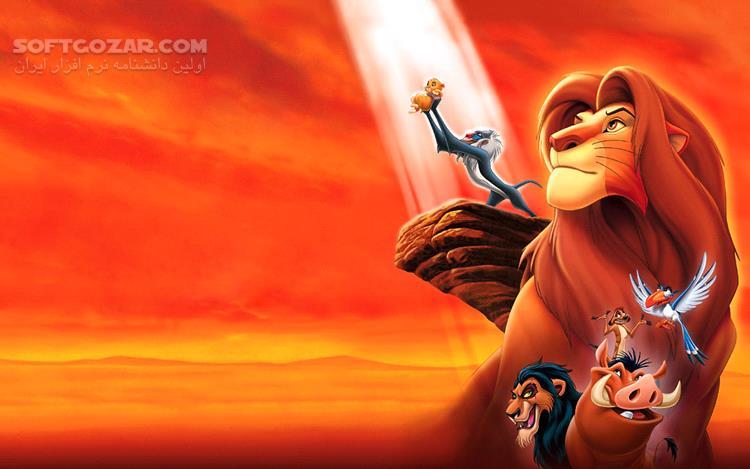 The Lion King تصاویر نرم افزار  - سافت گذر