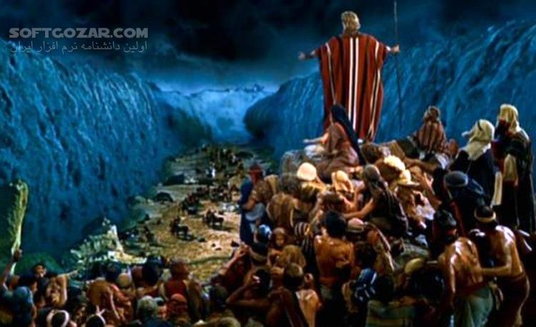 The Ten Commandments تصاویر نرم افزار  - سافت گذر