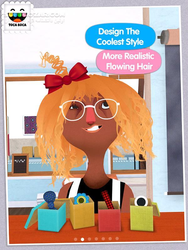 Toca Hair Salon 2 v1 0 6 for Android 4 0 3 تصاویر نرم افزار  - سافت گذر