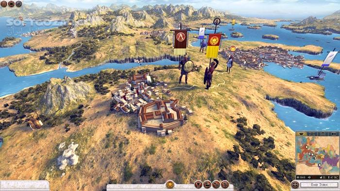 Total War Rome II Update 9 Incl DLC تصاویر نرم افزار  - سافت گذر