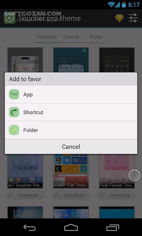 Toucher Pro Premium 1 26 for Android 2 1 تصاویر نرم افزار  - سافت گذر