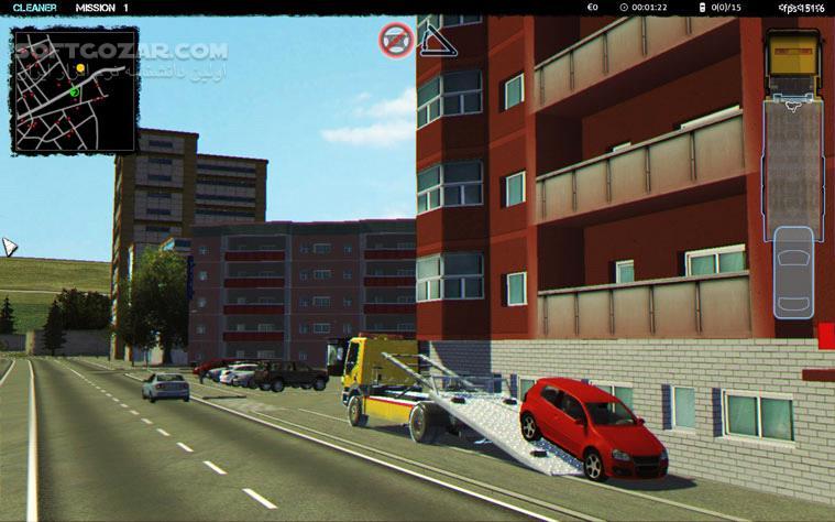 Towtruck Simulator 2015 تصاویر نرم افزار  - سافت گذر