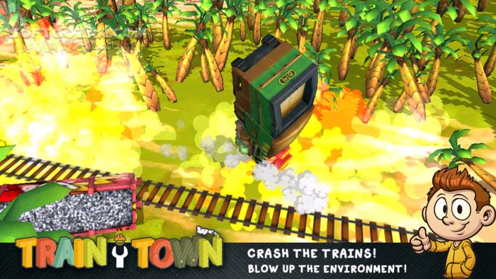 Train Town تصاویر نرم افزار  - سافت گذر