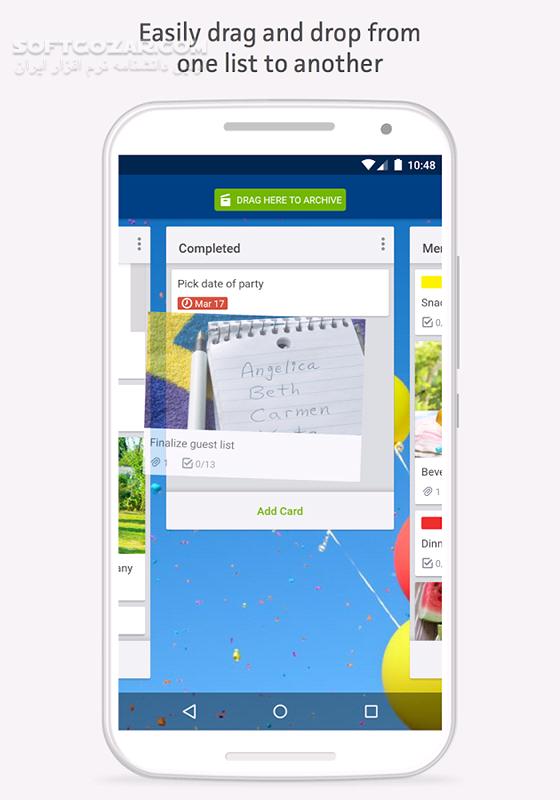 Trello Organize Anything 5 9 0 12381 for Android 4 1 تصاویر نرم افزار  - سافت گذر
