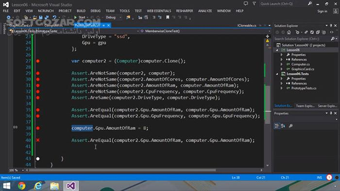 Tutsplus Design Patterns in Csharp تصاویر نرم افزار  - سافت گذر