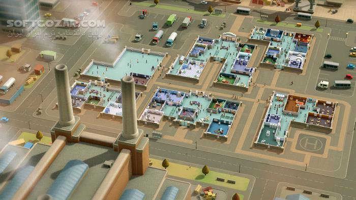 Two Point Hospital Updates تصاویر نرم افزار  - سافت گذر