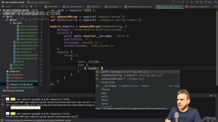 Udemy Angular 7 (formerly Angular 2) The Complete Guide 2019 1 تصاویر نرم افزار  - سافت گذر