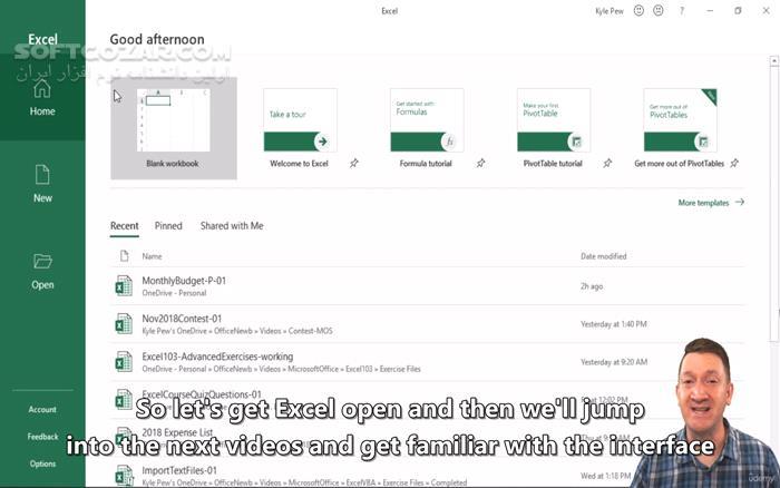Udemy Microsoft Excel Excel from Beginner to Advanced 2019 10 تصاویر نرم افزار  - سافت گذر