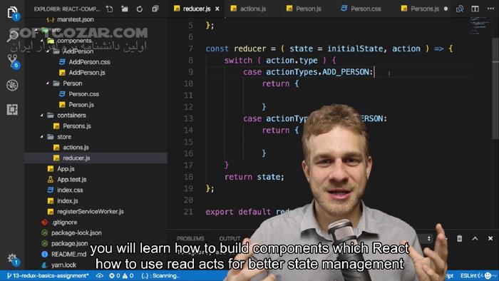 Udemy React The Complete Guide (incl Hooks, React Router, Redux) 2020 2 تصاویر نرم افزار  - سافت گذر