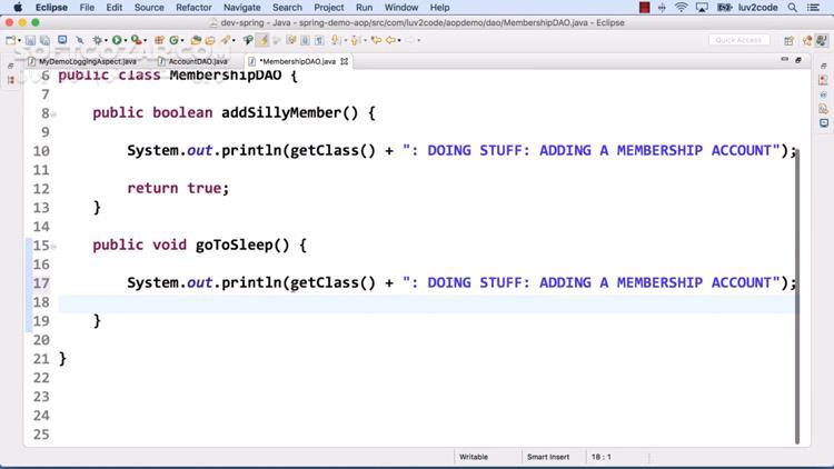 Udemy Spring Hibernate for Beginners (includes Spring Boot) تصاویر نرم افزار  - سافت گذر