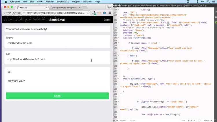 Udemy The Complete Web Developer Course 2 0 تصاویر نرم افزار  - سافت گذر