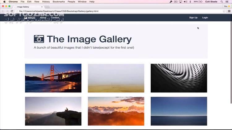 Udemy The Web Developer Bootcamp 2019 1 تصاویر نرم افزار  - سافت گذر