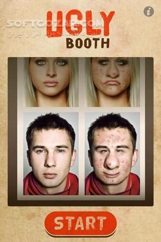 UglyBooth 1 8 for Android 2 3 تصاویر نرم افزار  - سافت گذر