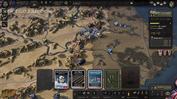 Unity of Command II Updates تصاویر نرم افزار  - سافت گذر