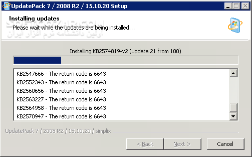UpdatePack7R2 19 8 22 Final for Windows 7 SP1 and Server 2008 R2 SP1 تصاویر نرم افزار  - سافت گذر