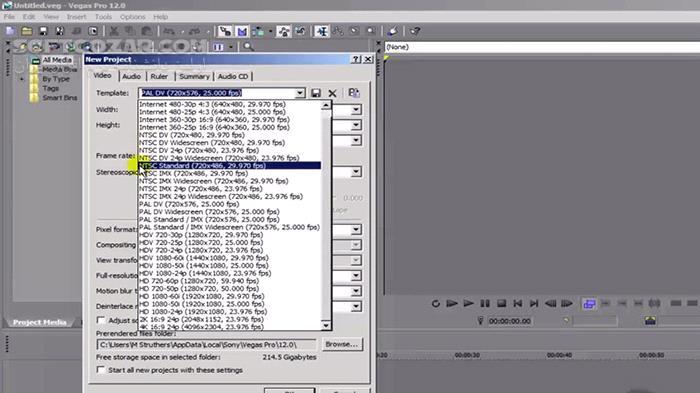 VTC Sony Vegas Pro 12 Course تصاویر نرم افزار  - سافت گذر