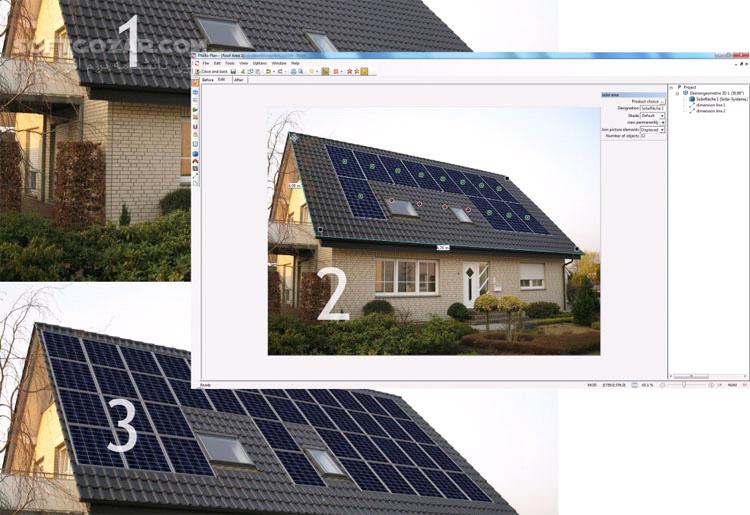 Valentin PVSOL Premium 7 5 R4 تصاویر نرم افزار  - سافت گذر