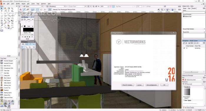 Vectorworks 2020 SP1 macOS 2019 SP4 تصاویر نرم افزار  - سافت گذر