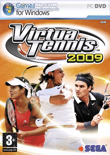 Virtua Tennis 2009 تصاویر نرم افزار  - سافت گذر