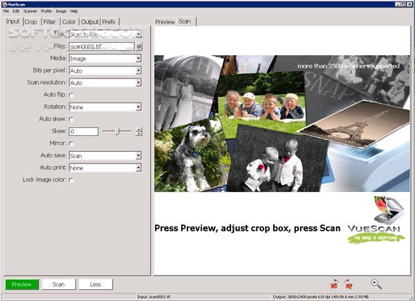 VueScan Pro 9 6 43 Portable macOS تصاویر نرم افزار  - سافت گذر