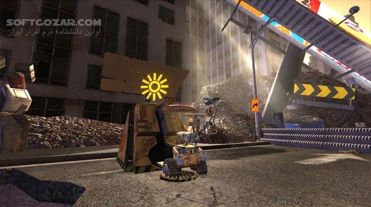 WALL E تصاویر نرم افزار  - سافت گذر