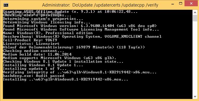 WSUS Offline Update 11 8 1 تصاویر نرم افزار  - سافت گذر