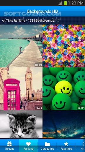 Backgrounds HD (Wallpapers) 4 7 9 1 for Android 2 3 تصاویر نرم افزار  - سافت گذر