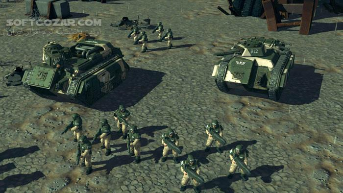 Warhammer 40,000 Sanctus Reach Sons of Cadia تصاویر نرم افزار  - سافت گذر