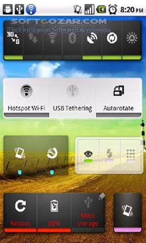 WebSharing 2 0 1 0 for Android تصاویر نرم افزار  - سافت گذر