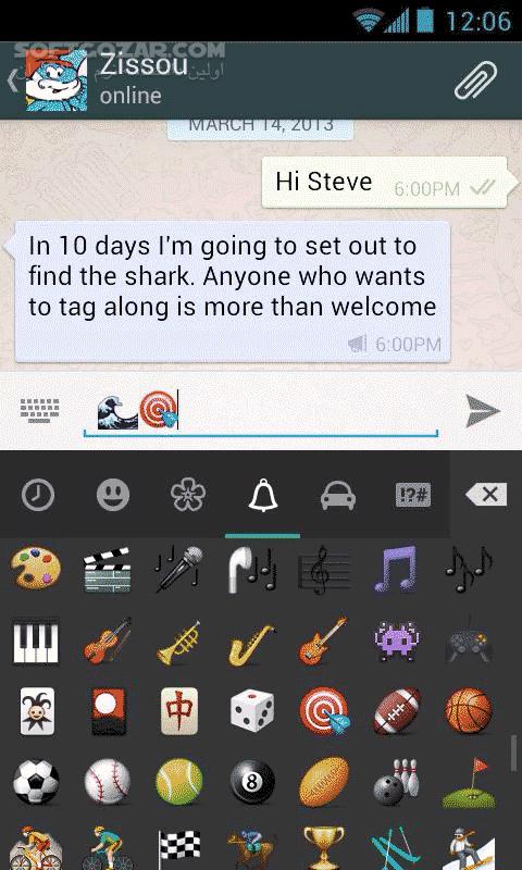 WhatsApp Messenger 2 19 172 for Android 4 0 تصاویر نرم افزار  - سافت گذر