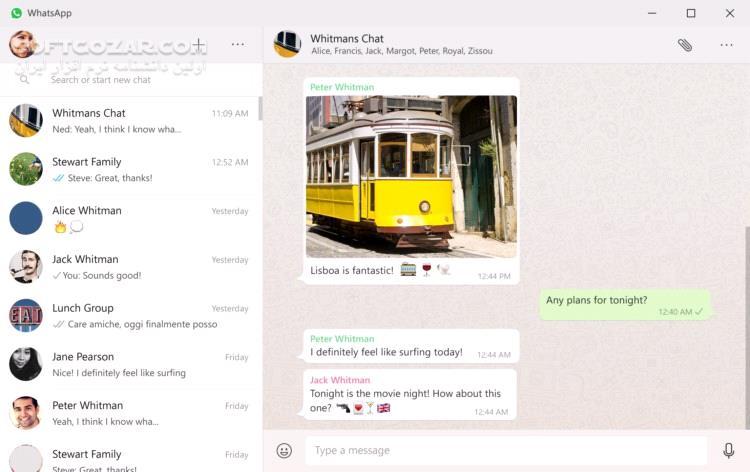 WhatsApp 0 3 5374 macOS تصاویر نرم افزار  - سافت گذر