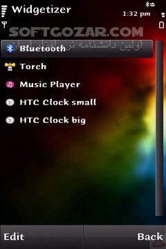 Widgetizer 1 04 for Symbian تصاویر نرم افزار  - سافت گذر