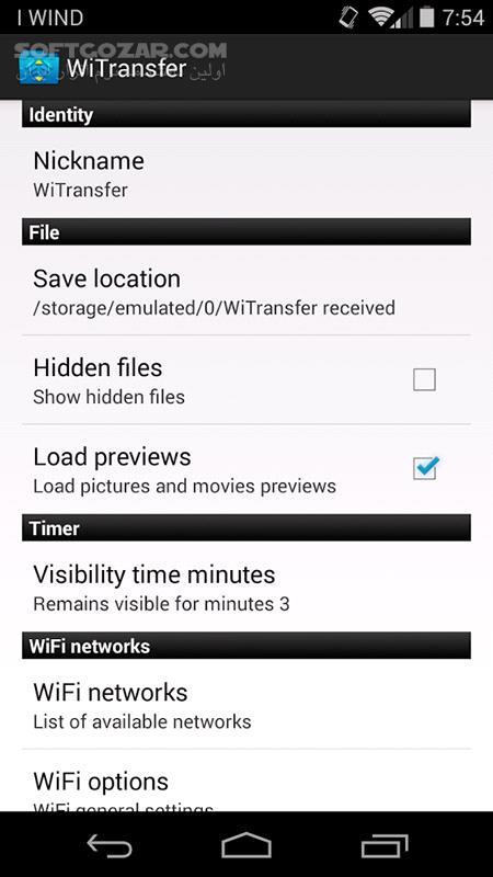 Wifi File Transfer Pro 1 10 for Android 2 3 تصاویر نرم افزار  - سافت گذر