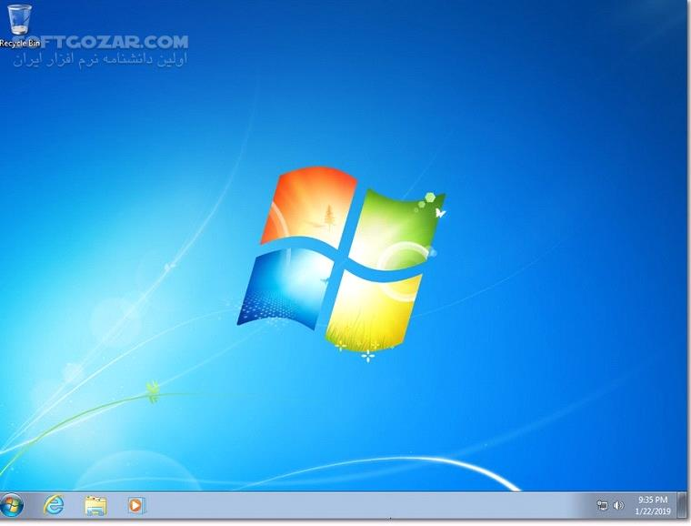 Windows 7 SP1 Ultimate September 2019 Gen2 تصاویر نرم افزار  - سافت گذر