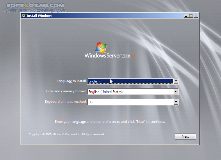 Microsoft Windows Server 2008 R2 Enterprise with SP1 x64 Volume تصاویر نرم افزار  - سافت گذر