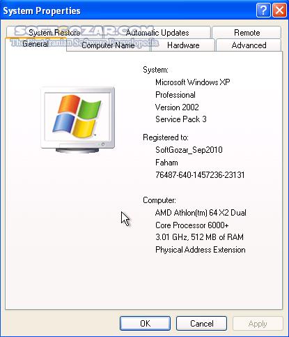 Windows XP Professional SP3 x86 Integral Edition 2019 6 15 تصاویر نرم افزار  - سافت گذر