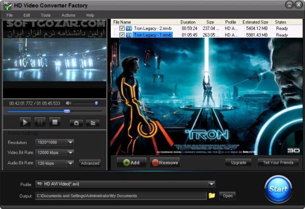 WonderFox HD Video Converter Factory Pro 18 1 تصاویر نرم افزار  - سافت گذر