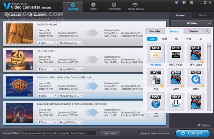 Wondershare UniConverter 11 5 0 16 macOS 10 3 2 6 تصاویر نرم افزار  - سافت گذر