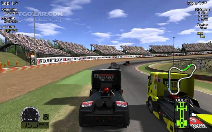 World Truck Racing تصاویر نرم افزار  - سافت گذر