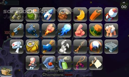Worms 0 0 34 for Android تصاویر نرم افزار  - سافت گذر