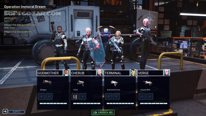XCOM Chimera Squad تصاویر نرم افزار  - سافت گذر