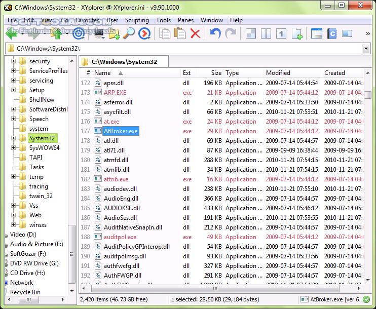 XYplorer 20 00 0000 Portable تصاویر نرم افزار  - سافت گذر