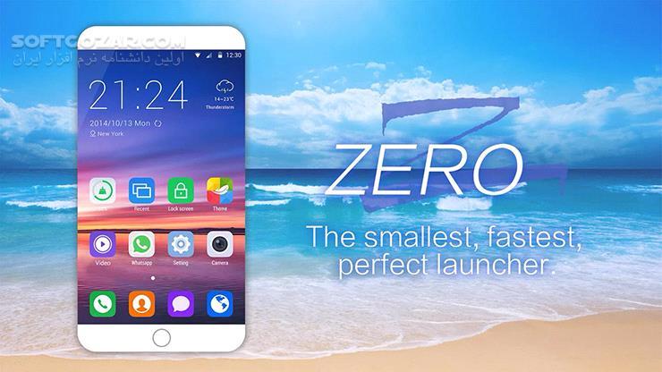 ZERO Launcher 3 51 1 for Android 4 0 تصاویر نرم افزار  - سافت گذر