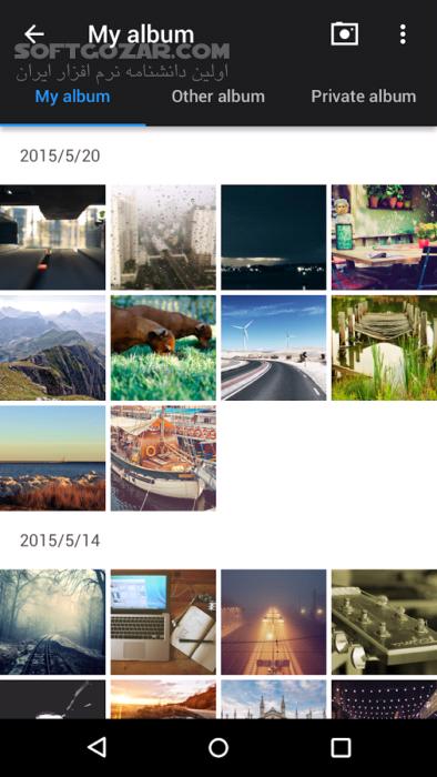 Z Camera 4 43 for Android 4 0 تصاویر نرم افزار  - سافت گذر