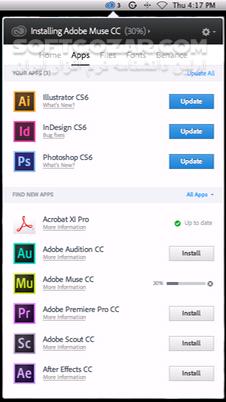 Adobe Creative Cloud Desktop Application 5 0 0 354 Cleaner Tool macOS تصاویر نرم افزار  - سافت گذر