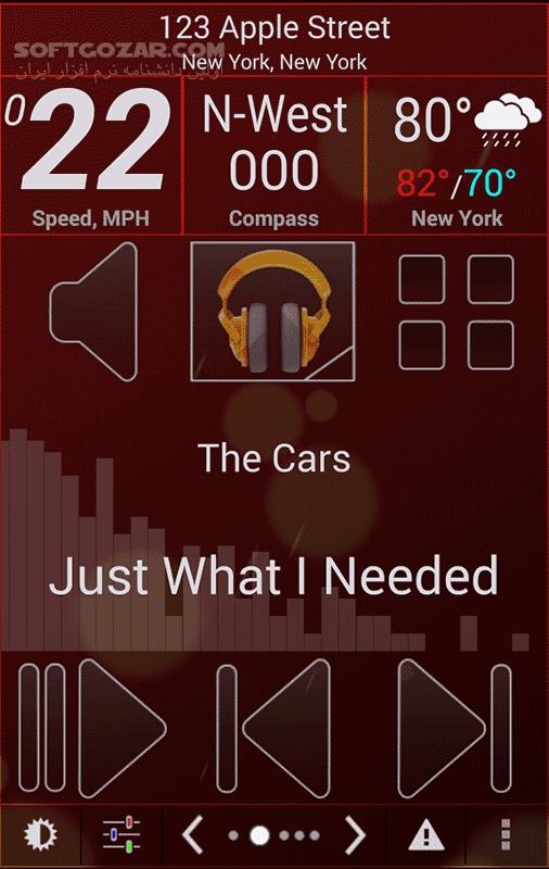 Car Home Ultra Full 4 40 for Android تصاویر نرم افزار  - سافت گذر
