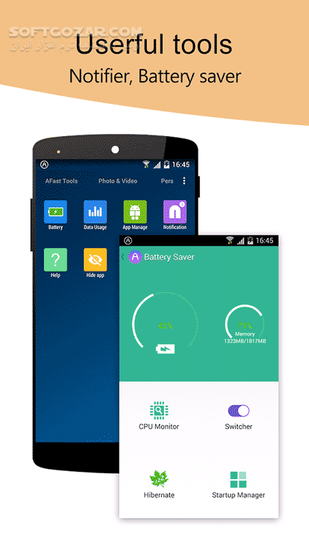 AFast Launcher PRIME 3 81 for Android 4 0 تصاویر نرم افزار  - سافت گذر